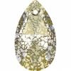 Gold Patina Crystal